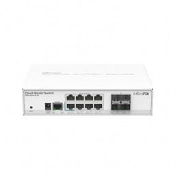 HUB SWITCH 8 PTOS MIKROTIK CRS112 8G 4S IN
