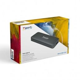 CAJA EXTERNA PARA SSD M2 NGFF TOOQ USB C LED