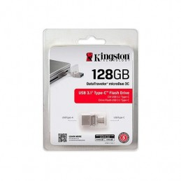 PENDRIVE 128GB USB30 TIPO C KINGSTON DT MICRO DUO