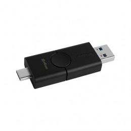 PENDRIVE 64GB USB32 TIPO C KINGSTON DT DUO