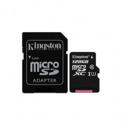MEM MICRO SDXC 128GB KINGSTON CANVAS SELECTADAPT