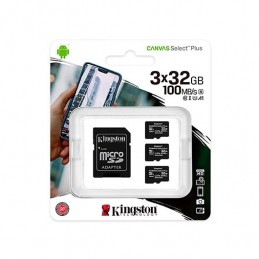 MEM MICRO SDHC 32GB KINGSTON CANVAS SELECTADAPT