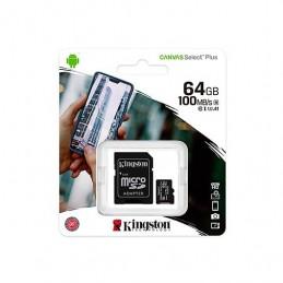 MEM MICRO SDXC 64GB KINGSTON CANVAS SELECTADAPT