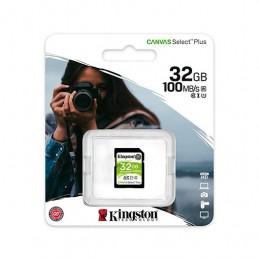 MEM SDHC 32GB KINGSTON CANVAS SELECT PLUS