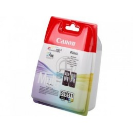 CARTUCHO ORIG CANON PACK PG 510 CL 511 MULTIPACK