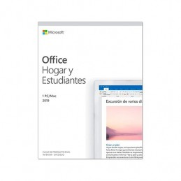 SOFTWARE MICROSOFT OFFICE HOME STUDENTS 2019