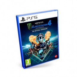 JUEGO SONY PS5 MONSTER ENERGY SUPERCROSS THE OFICIAL VIDEOG
