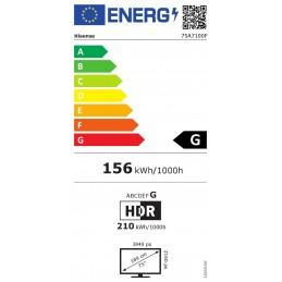 TELEVISIoN LED 75 HISENSE 75A7100F SMART TV 4K UHD