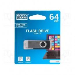 PENDRIVE 64GB USB20 GOODRAM UTS2 BLACK