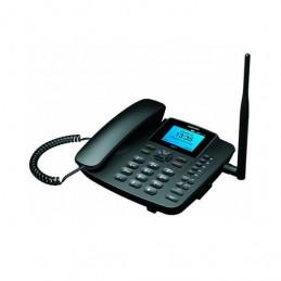 TELEFONO FIJO MAXCOM FIXED PHONE MM41D NEGRO