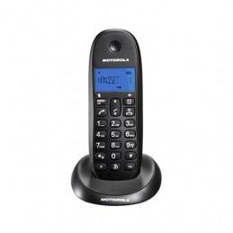 TELEFONO INALAMBRICO DECT DIGITAL MOTOROLA C1001LB NEGRO