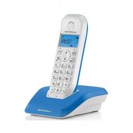 TELEFONO INALAMBRICO DECT DIGITAL MOTOROLA S1201 AZU
