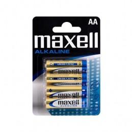PILA ALCALINA MAXELL LR06 AA PACK 4