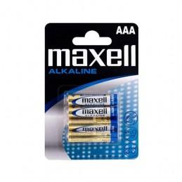PILA ALCALINA MAXELL LR03 AAA PACK 4