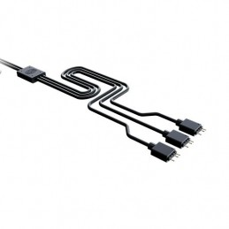 CABLE SPLITTER COOLERMASTER 1 A 5 A RGB 3 PINES